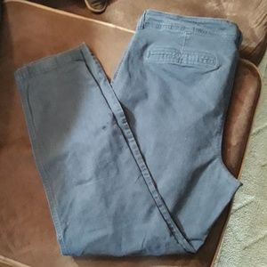 Old Navy size 16 twill pants